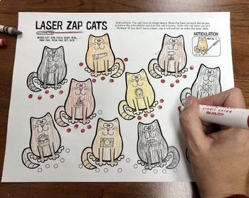 Laser Zap Cats Articulation