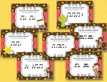 Lasso Some Rhythms! Interactive Rhythm Practice BUNDLE - 7 GAMES!