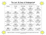 Last 26 Days Calendar EDITABLE, FREEBIE