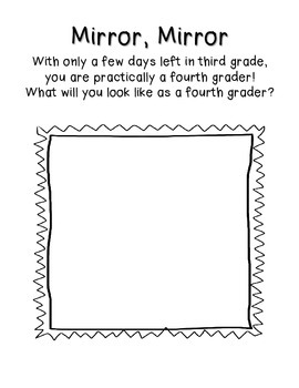 Last Days in 3rd Grade! {End of the Year Activity for Third!}
