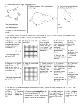 Last Chance Geometry Review Fall 2013