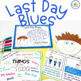 Last Day Blues Read-Aloud Activity