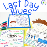 Last Day Blues Read-Aloud | Distance Learning | for Google Slides | Seesaw