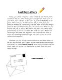 Last Day Letters