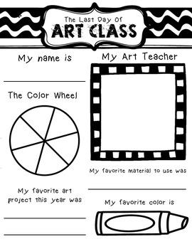 Last Day of Art Class