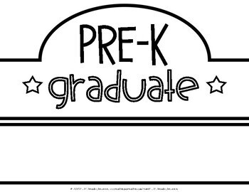 Last Day of Pre-K/Ready for Kindergarten Crowns