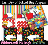 Last Day of School Bag Toppers