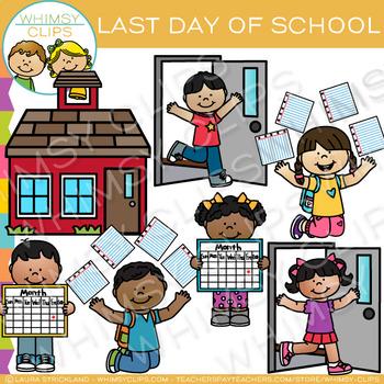 Last Day of School Clip Art