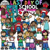Last Day of School Clipart {Summer Clipart}