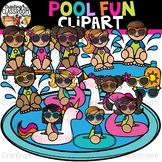 Pool Fun Clipart {Summer Clipart}