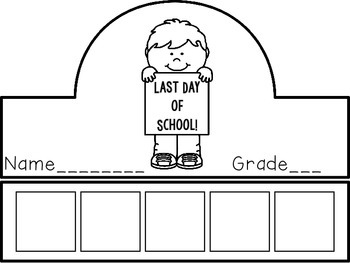 Last Day of School Crown