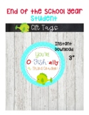 Last Day of School Gift Tags-End of Year Gifts-O-fish-ally a 3rd Grader