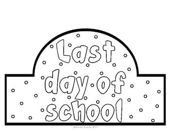 Last Day of School Hat