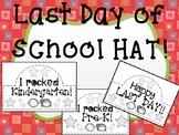Last Day of School Hats