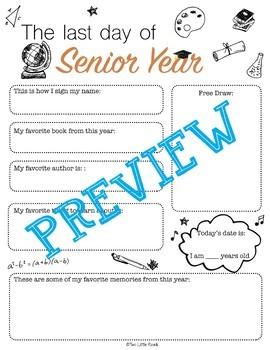 Last Day of School Interview Bundle