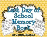 Last Day of School Memory Book {Kindergarten, First Grade, Second Grade}