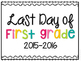 Last Day of School Printable Signs {FREE}
