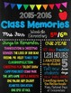 Last Day of School Sign with Memories- CUSTOMIZED