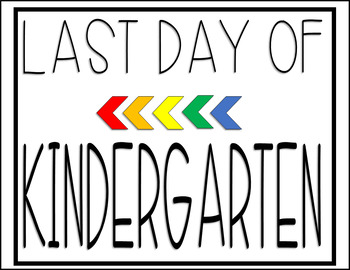 Last Day of School Signs Freebie: Fun Photo Ops for Students!