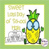 Last Day of School Sweet Pineapple Hats