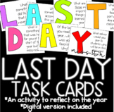 Last Day of School Task Cards