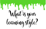 Last Day of School: What is your learning style? SLIME!