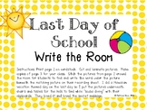 Last Day of School Writing Activity