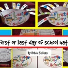 Last Day of School or First Day of School Hat Craft {end of year activities}