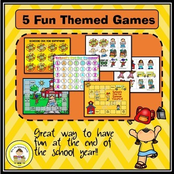 End of the Year Speech Therapy Activities Printable Pack