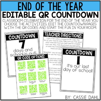 End of the Year QR Countdown