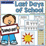 End of year, Last Days of School, Summer, Memory Book