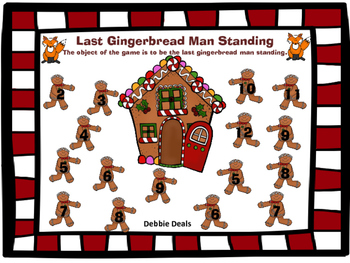 Last Gingerbread Man Standing Addition Game