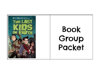 Last Kids on Earth Novel Packet for Reluctant Readers and Language Learners