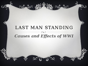 Last Man Standing - WWI Review Game