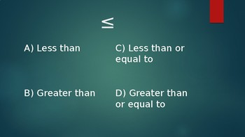 Last Man standing inequalities and functions