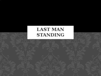 Last Man standing system of equations