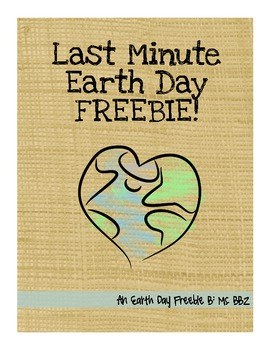 Last-Minute Earth Day FREEBIE!