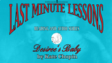 Last Minute Lessons Desiree's Baby by Kate Chopin