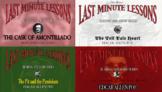 Last Minute Lessons Edgar Allen Poe Series Bundle