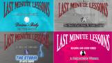 Last Minute Lessons Kate Chopin Series Bundle