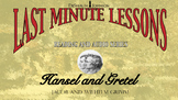 Last Minute Lessons: Read and Audio Series Hansel and Gret