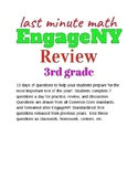 Last Minute Math: 3rd Grade EngageNY  New York State Standardized Test Review