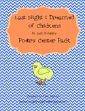 Last Night I Dreamed of Chickens by Jack Prelutsky  Poetry