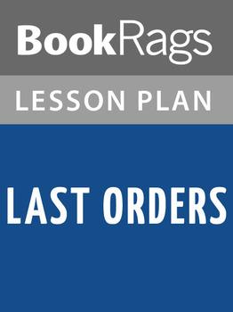 Last Orders Lesson Plans