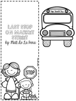 Last Stop On Market Street Literature Lap Book