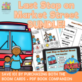 Last Stop on Market Street Book Companion + Boom Cards Bundle for Speech Therapy