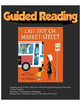Last Stop on Market Street - Guided Reading