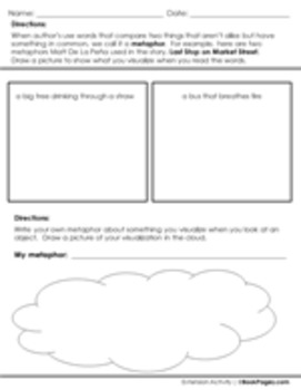 Last Stop on Market Street Lesson Plans & Activities Package, 2nd Grade (CCSS)