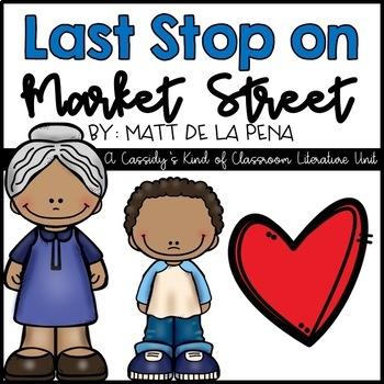 Last Stop on Market Street Literacy Pack