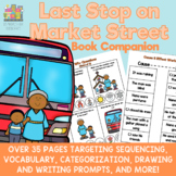 Last Stop on Market Street PDF Book Companion for Speech Therapy